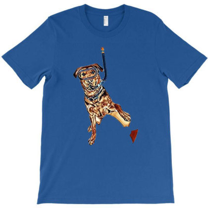 A Mixed Large Breed Dog Ready T-shirt Designed By Kemnabi