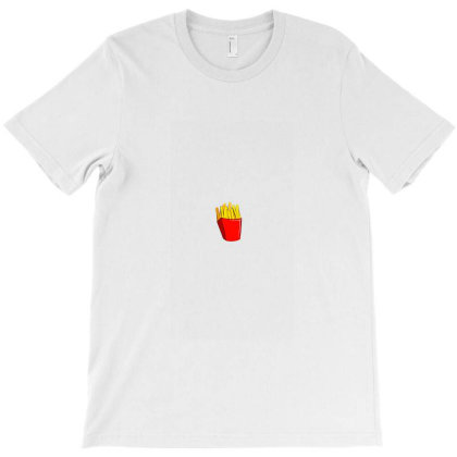 Fries T-shirt Designed By Paperandgraphite