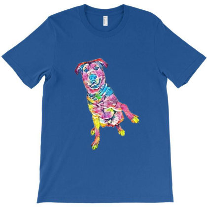 A Happy Mixed Large Breed Dog T-shirt Designed By Kemnabi