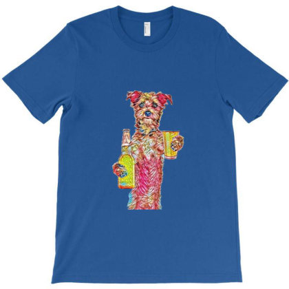 A Cute Little Terrier Breed D T-shirt Designed By Kemnabi