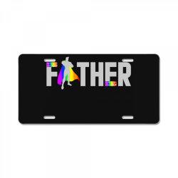 happy father day pride t shirt License Plate | Artistshot
