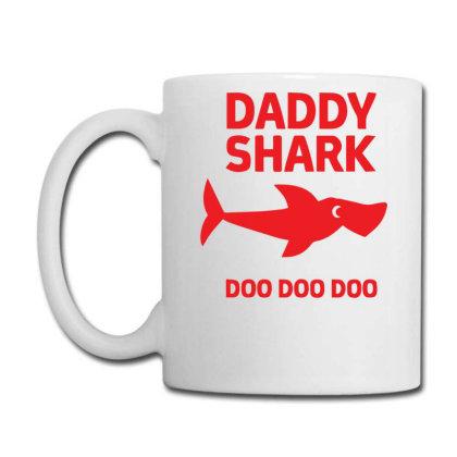 Daddy Shark Coffee Mug Designed By H4rum
