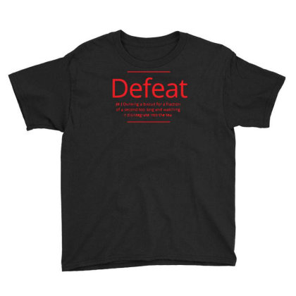 Defeat Youth Tee Designed By H4rum