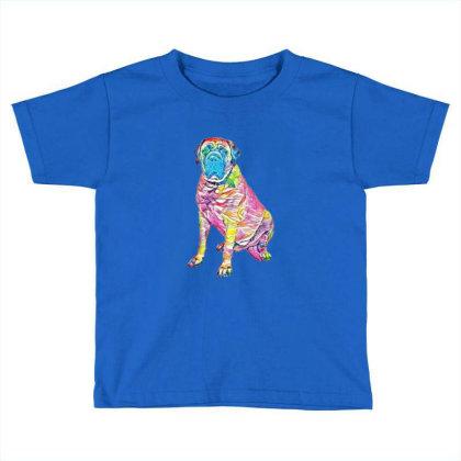 Giant Mastiff Breed Dog Sitti Toddler T-shirt Designed By Kemnabi