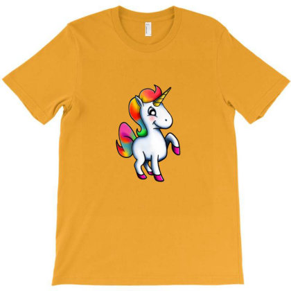 Cute Unicorn T-shirt Designed By Asatya