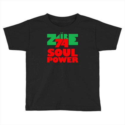 1974 Zaire Music Festival Toddler T-shirt Designed By H4rum
