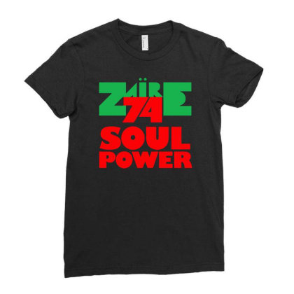 1974 Zaire Music Festival Ladies Fitted T-shirt Designed By H4rum