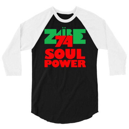 1974 Zaire Music Festival 3/4 Sleeve Shirt Designed By H4rum