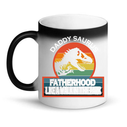 Daddysaurus Magic Mug Designed By Delicous
