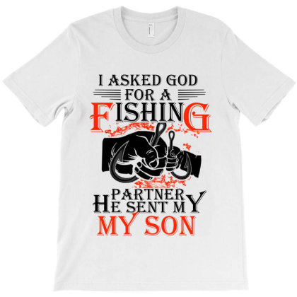 Father And Son Fishing T-shirt Designed By Delicous