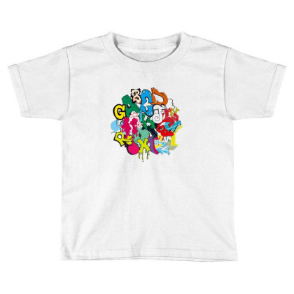 Graffiti Toddler T-shirt Designed By Disgus_thing
