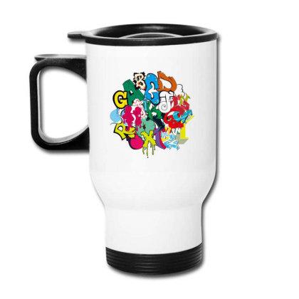Graffiti Travel Mug Designed By Disgus_thing