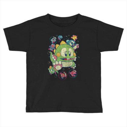 Bubble Bobble Vintage Action Toddler T-shirt Designed By Mrt90