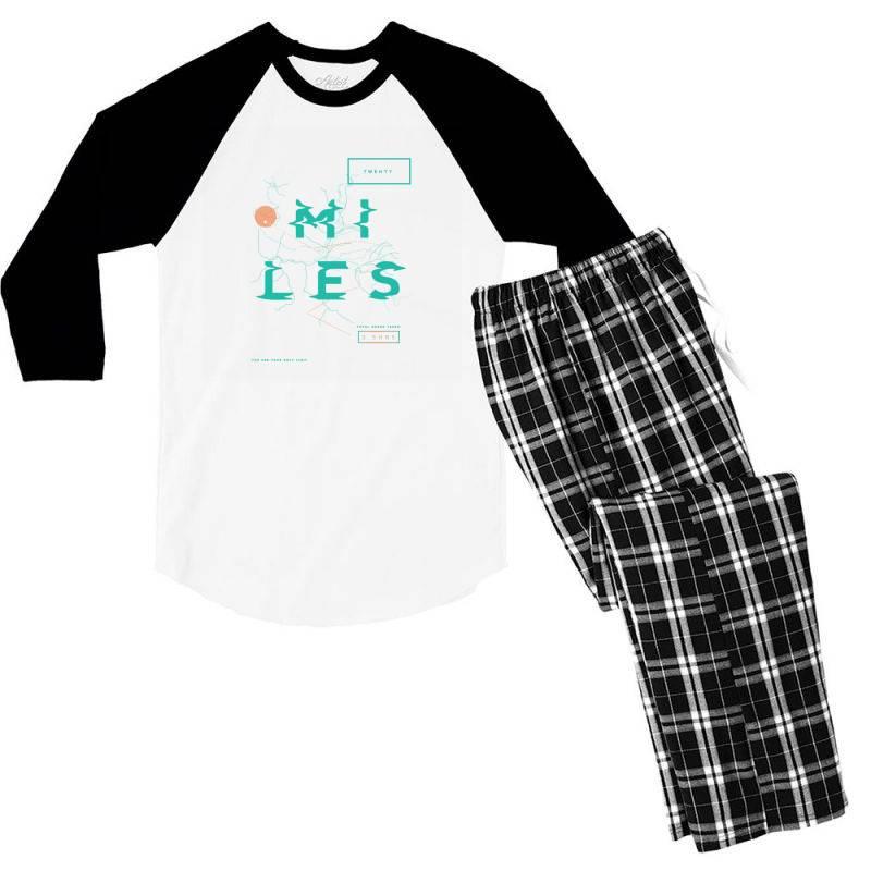Sports Men's 3/4 Sleeve Pajama Set | Artistshot