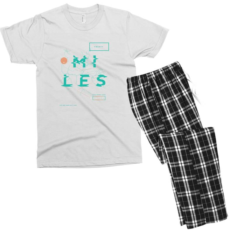 Sports Men's T-shirt Pajama Set   Artistshot