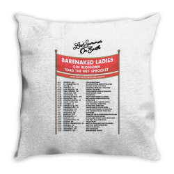 Custom Last Summer On Earth Date 2021 Tour Throw Pillow Designed By Cakrawala