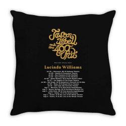 Custom Summer Tour Dates 2021 Jason Isbell Throw Pillow Designed By Cakrawala