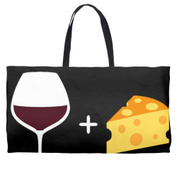 Wine & Cheese Weekender Totes | Artistshot