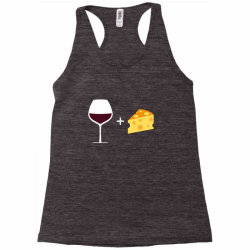 Wine & Cheese Racerback Tank | Artistshot