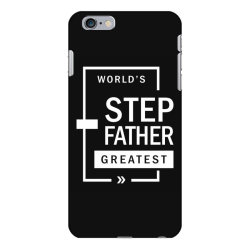 Mens World's Step Father Greatest Gift iPhone 6 Plus/6s Plus Case   Artistshot