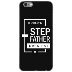 Mens World's Step Father Greatest Gift iPhone 6/6s Case   Artistshot