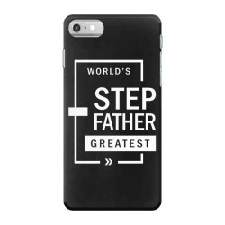 Mens World's Step Father Greatest Gift iPhone 7 Case   Artistshot
