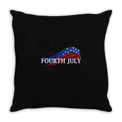 happy 4th of july Throw Pillow | Artistshot