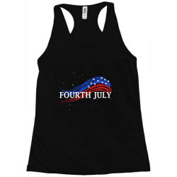 happy 4th of july Racerback Tank | Artistshot