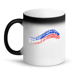Happy 4th Of July Magic Mug Designed By Dropshop