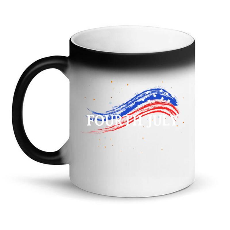 Happy 4th Of July Magic Mug | Artistshot