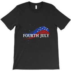 Happy 4th Of July T-shirt Designed By Dropshop