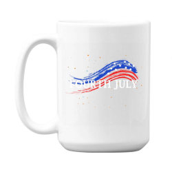 Happy 4th Of July 15 Oz Coffe Mug Designed By Dropshop