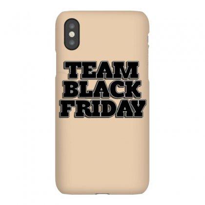 Team Black Friday Iphonex Case Designed By Kiva27