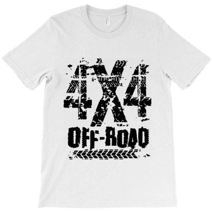 4x4 Offroad Adventure T-shirt Designed By Designisfun