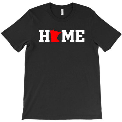 Minnesota State Usa Pride Home | White T-shirt Designed By Noir Est Conception