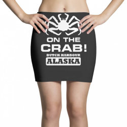 v t shirt inspired by deadliest catch   on the crab. Mini Skirts | Artistshot