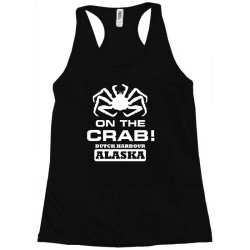 v t shirt inspired by deadliest catch   on the crab. Racerback Tank | Artistshot