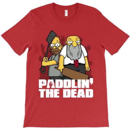 Paddlin' The Dead! T-shirt Designed By Raffiti