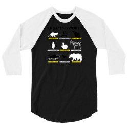 animals of the world 3/4 Sleeve Shirt | Artistshot
