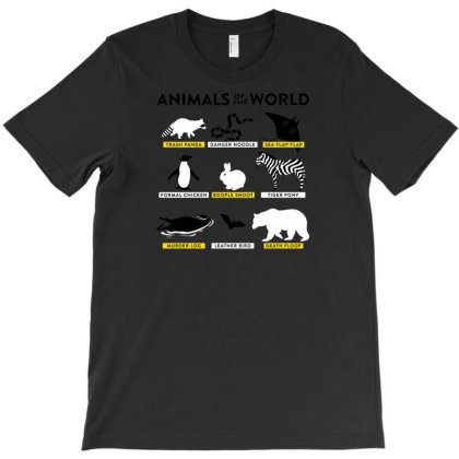 Animals Of The World T-shirt Designed By H4rum