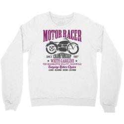 motorcycle biker rider Crewneck Sweatshirt | Artistshot