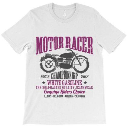 Motorcycle Biker Rider T-shirt Designed By Designisfun
