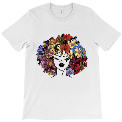 Afro Natural Black Hair Shirt Kind Pride T-shirt Designed By Amber Petty