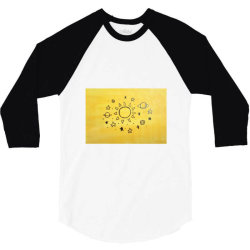 It's all in the universe 3/4 Sleeve Shirt | Artistshot