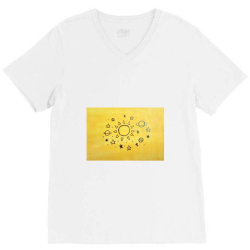 It's all in the universe V-Neck Tee | Artistshot