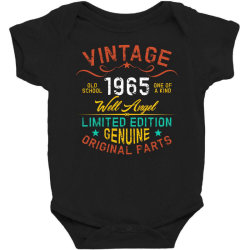 vintage 1965 well angel Baby Bodysuit | Artistshot