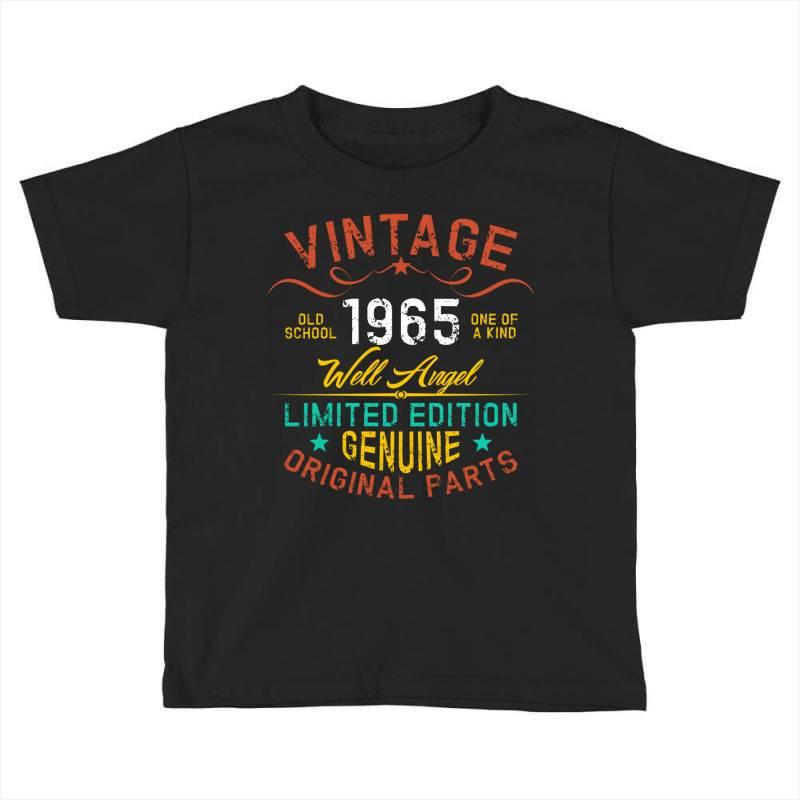 Vintage 1965 Well Angel Toddler T-shirt | Artistshot