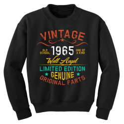 vintage 1965 well angel Youth Sweatshirt | Artistshot