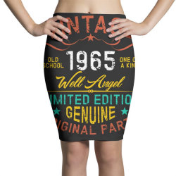 vintage 1965 well angel Pencil Skirts | Artistshot
