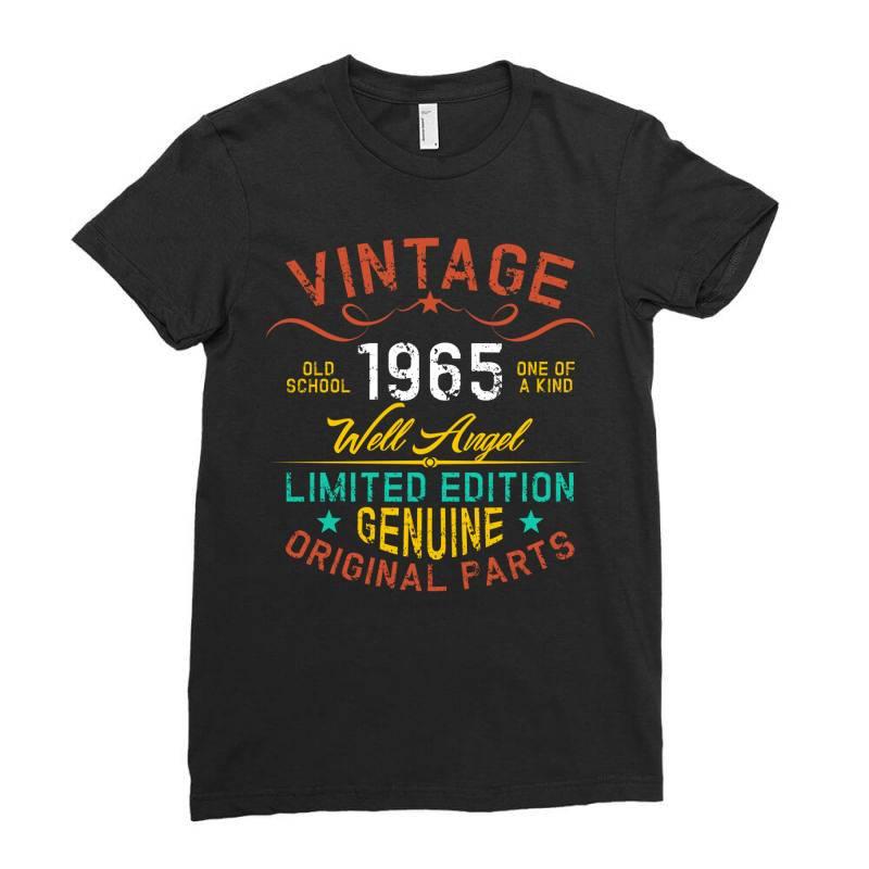 Vintage 1965 Well Angel Ladies Fitted T-shirt | Artistshot